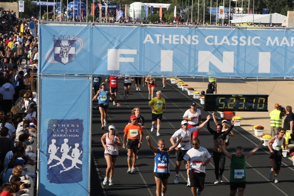 Athens Marathon 2010 | Athens, Greece | Michael Rucker